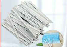 20 -100 Nose Bridge Strips Double Wired DIY Face Dress Making 100mm L  4mm Wide