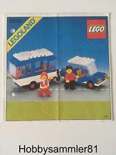 Lego® 6694 Legoland Town Bauanleitung Auto mit Wohnwagen - gelocht