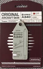 Aviationtag : QATAR AIRWAYS : A340-600 (A7-AGB : MSN 715)