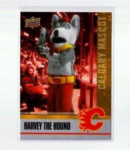 HARVEY THE HOUND '21 NHCD National Hockey Card Day CALGARY MASCOT card  #M-8