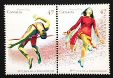 Canada #1894-1895a MNH, Games of la Francophonie Pair of Stamps 2001