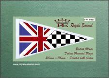 Royale Antenna Pennant Flag UNION JACK CHECKER FLAG MODS FP1.1169