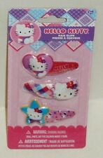 Hello Kity Hair Clips Very Cute Durable Well Made Easy To Use Hair Clips 3ct