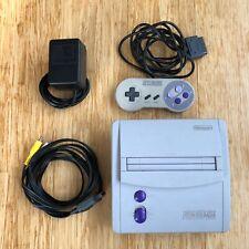 Super Nintendo NES System Video Game Console - Gray (SNS-001) Mini Jr.