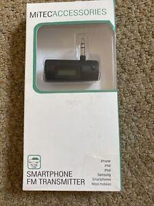 MiTec Accessories Smartphone FM Transmitter iPhone iPad iPod Samsung Mobiles