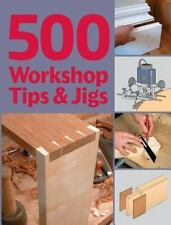 500 Workshop Tips and Jigs Book~Guild of Master Craftsmen~Router~Lathe~More~NEW