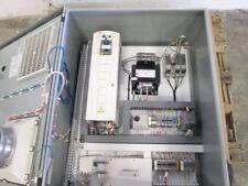 Abb Ach550 10hp 480v Ac Drive In Control Boxwith Fan