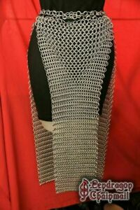 New Aluminum CHAINMAIL SKIRT 10 MM BUTTED MEDIEVAL ARMOUR