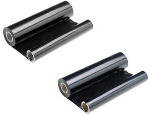 2x Ersatz Fax-Rollen Druckfolie für Sharp UXP310 370 470 UX-3CR UX3CR.