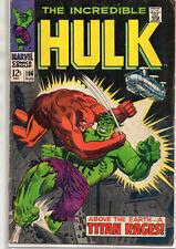 Incredible HULK #106 Titan Rages! 1968