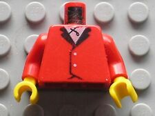 LEGO Minifig Torso with Riding Jacket ref 973p12 / Set 6417 6405 6379 6419 6399