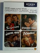 Tcm Collection: Hitchcock (Dvd, 2009) Suspicion, Strangers on a Train, Wrong Man