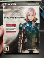PS3 LIGHTNING RETURNS FINAL FANTASY XIII STEELBOOK GAME NEW TARGET EXCLUSIVE