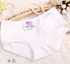 2017 Women's Modal Panties Underwear Cotton Briefs Middle Waist Underpant