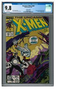 Uncanny X-Men #248 2nd Print (1992) Key 1st Jim Lee Art in Title CGC 9.8 JZ081