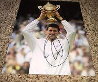 Novak Djokovic Signed 8x10 Photo with proof