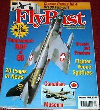 Flypast 1998 September PV-1 Ventura,Spitfire,RAF,CWH,Bf109,Broussard,B-24