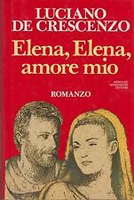 Libro - Luciano de Crescenzo - Elena Elena amore mio |  usato