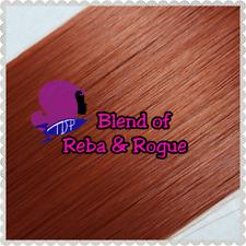 2 Color Reba/Rogue Blend Doll Hair Hank - Rerooting Dolls and Ponies