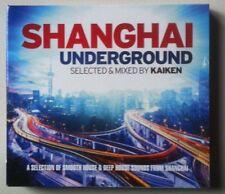 Shanghai underground Selected & Mixed By KAIKEN.  Digipack 3 CD.