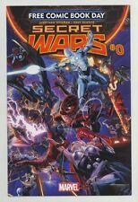 FCBD 2015 Marvel Secret Wars #0 - Avengers Spider-Man & Attack on Titan Manga