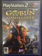 Sony PS2 Playstation 2 Goblin Commander: Unleash the Horde NUOVO FACTORY SEALED