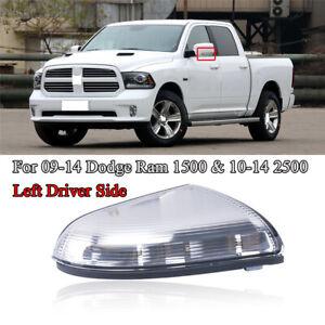 Front Left Driver Side Mirror Turn Signal Light For 09-14 Dodge Ram 1500 & 2500