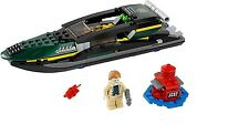 Nouveau Aldrich Killian Figurine & Aldrich boat from set 76006 LEGO Iron Man 3