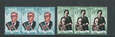 SOUTH WEST AFRICA 1968 CHARLES ROBBERT SWART (Scott 312-313) VF MNH