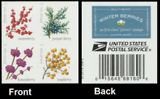2019 US Stamp - Winter Berries Block of 4 - SC#5415-5418