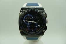 SAVOY EXTREME PVD CHRONOGRAPH BLUE SWISS MADE 45MM 100M COMPLETE  NO RESERVE NR