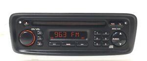 Original CD Autoradio Clarion PU 2325A Peugeot 206 code dabei