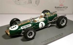 Spark BRABHAM BT19 WORLD CHAMPION 1966 Brabham #3 1/18 Scale New Release!