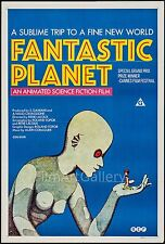 FANTASTIC PLANET rare style 1 sheet poster LA PLANETE SAUVAGE  filmartgallery