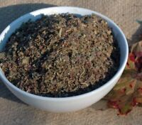 Krauterino24 - Weinlaub Weinblätter rot geschnitten - 250g