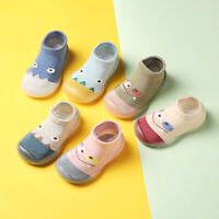 Newborn Baby Cosy Toddler Cartoon Anti-Slip Socks Slipper Home Crib Shoes Boots