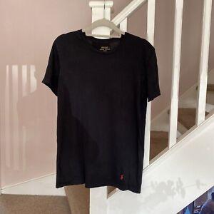 1980s Ralph Lauren T Shirt Size Medium Designer Casual Retro Vintage