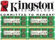 KINGSTON ACR512X64D3S16C11G LAPTOP RAM MEMORY 4GB DDR3-1600 PC3-12800