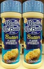 Molly McButter ~ Fat Free Natural Butter Sprinkles ~ 2 pk - 2 oz Each