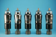 5 Pieces Matched VT52  ZA/11244 EL32 NOS Military Vacuum Power Output Tubes