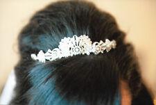 Swarovski Crystal Bridal Hair Comb - Tiara Style