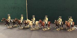 CBG Mignot: Louis XIVs Cavalry In White.  Pre War c1930s