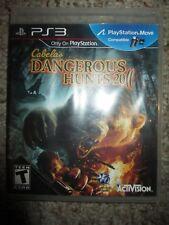 Cabela's Dangerous Hunts 2011  (Sony Playstation 3, 2010) PS3 Complete