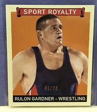 Rulon Gardner 2008 UD Goudey Sport Royalty MINI GREEN BACK SP/88 Rare Wrestling