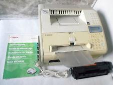 Canon i-Sensys Fax-L140 ISDN. Laser Drucker, kopieren, Handbuch u. CD-ROM uvm