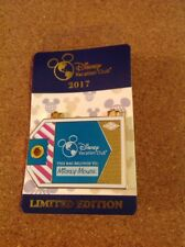 2017 Disney Pin WDW DVC Luggage Tag Collection #3 Pink & Teal