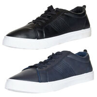 Mens Soulstar Lace Up Leather Shoes Casual Fashion Trainers Pumps Size
