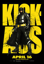 KICK-ASS Movie POSTER 27x40 L Nicolas Cage Aaron Johnson Chloe Moretz
