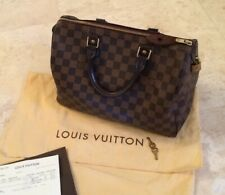 Sac Louis Vuitton Speedy 30 Damier Ebene Canvas