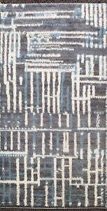 Modern Abstract Moroccan Oriental Area Rug Hand-knotted Home Decor 6'x9' Carpet